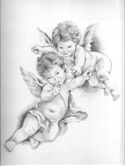 fly angel coloring pages - photo#44
